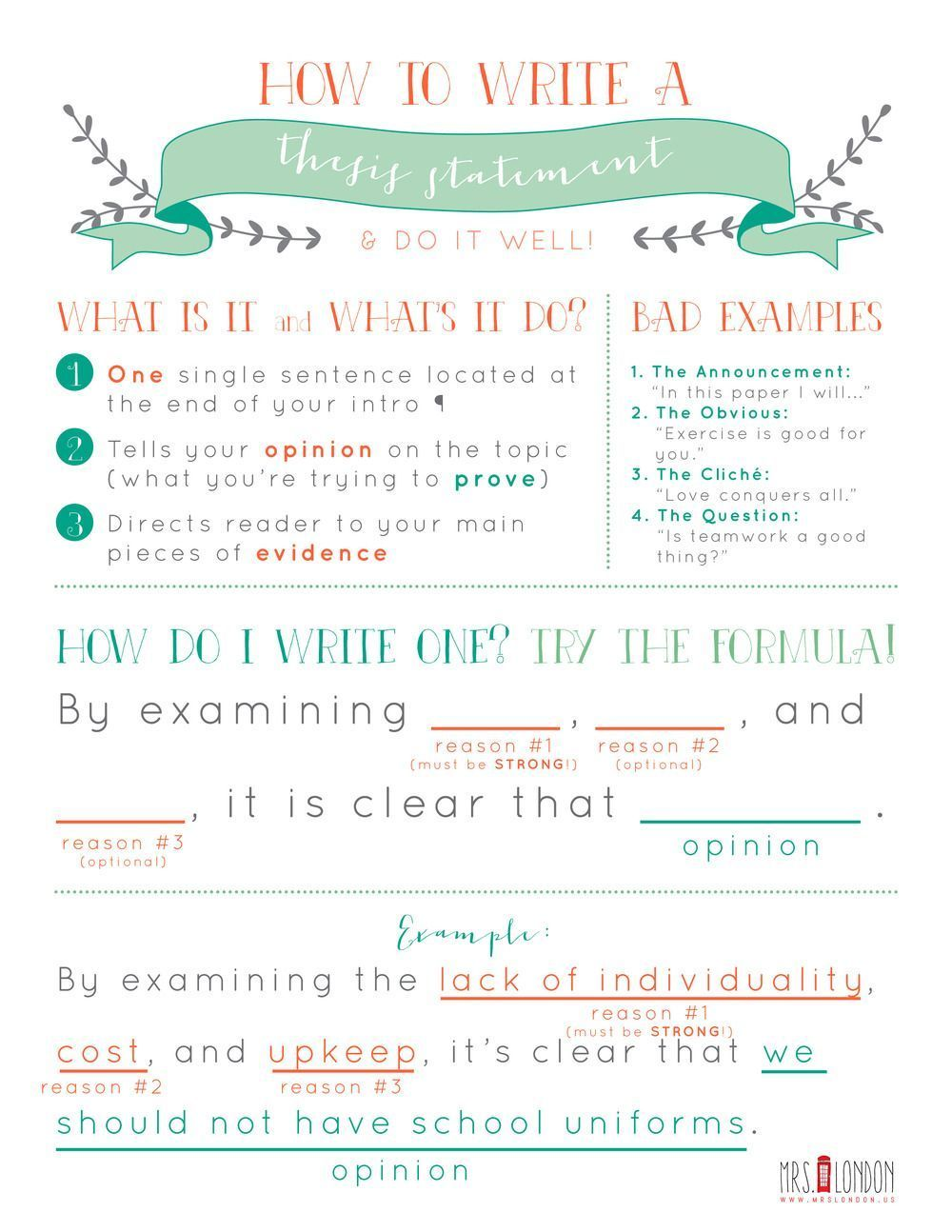 Pin By Lovely Anchor On Anchor Printable Thesis Statement My