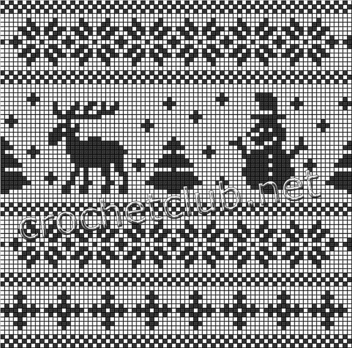 Картинки орнаменты для вязания спицами