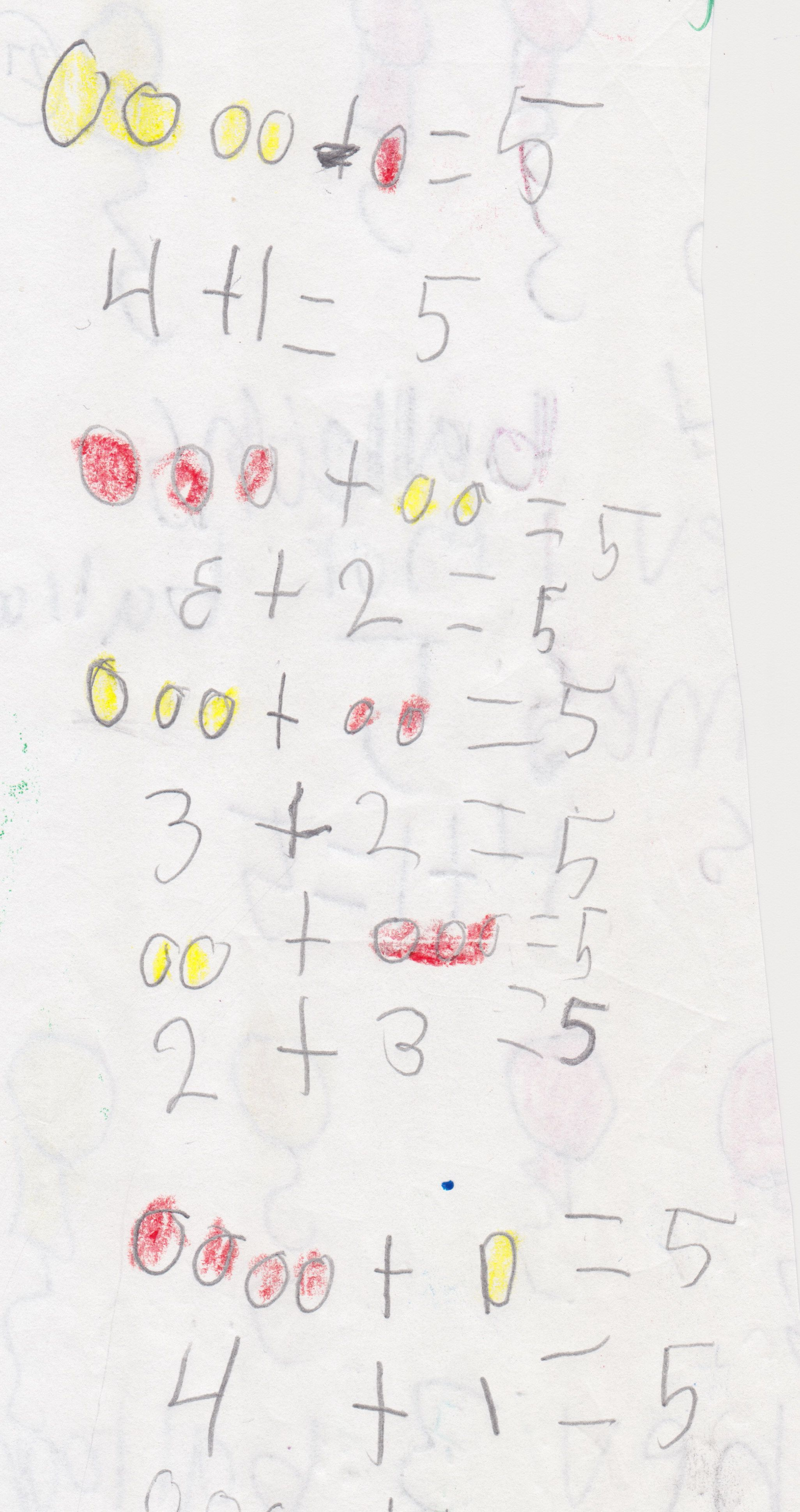 Kindergarten Math Journal Task #KindergartenMathJournals #