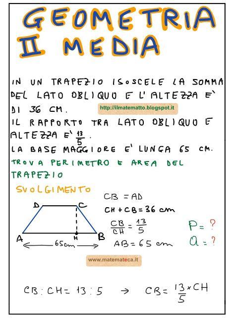 Giuseppe Burgio: Problema di Geometria Svolto per la ...