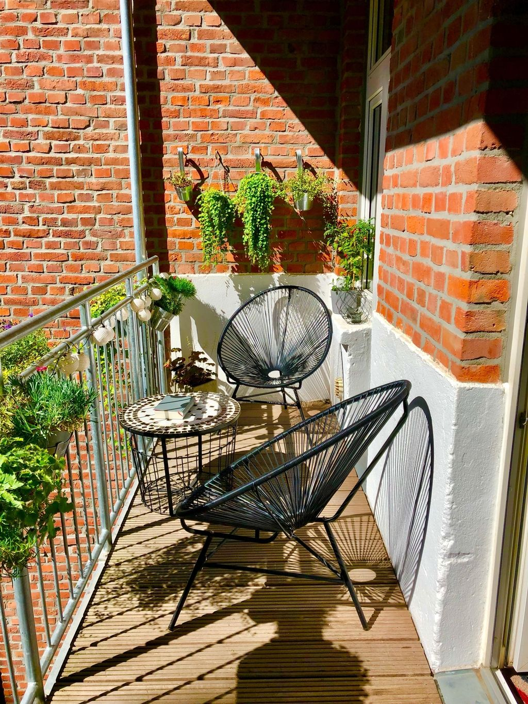 Erinnerungen an einen sonnigen Sommer auf dem Balkon…