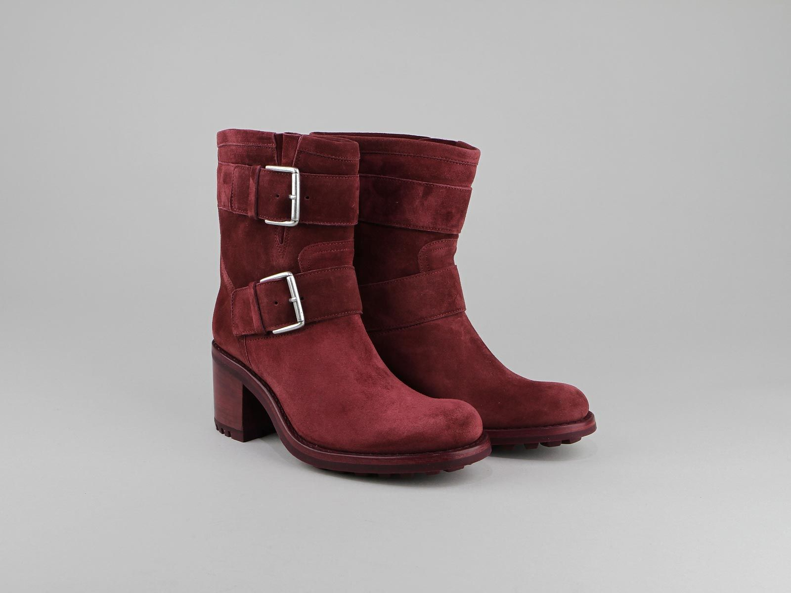 Free Lance Leather Strap Boots Outlet 2018 New Supply Tdzz2QLuOT