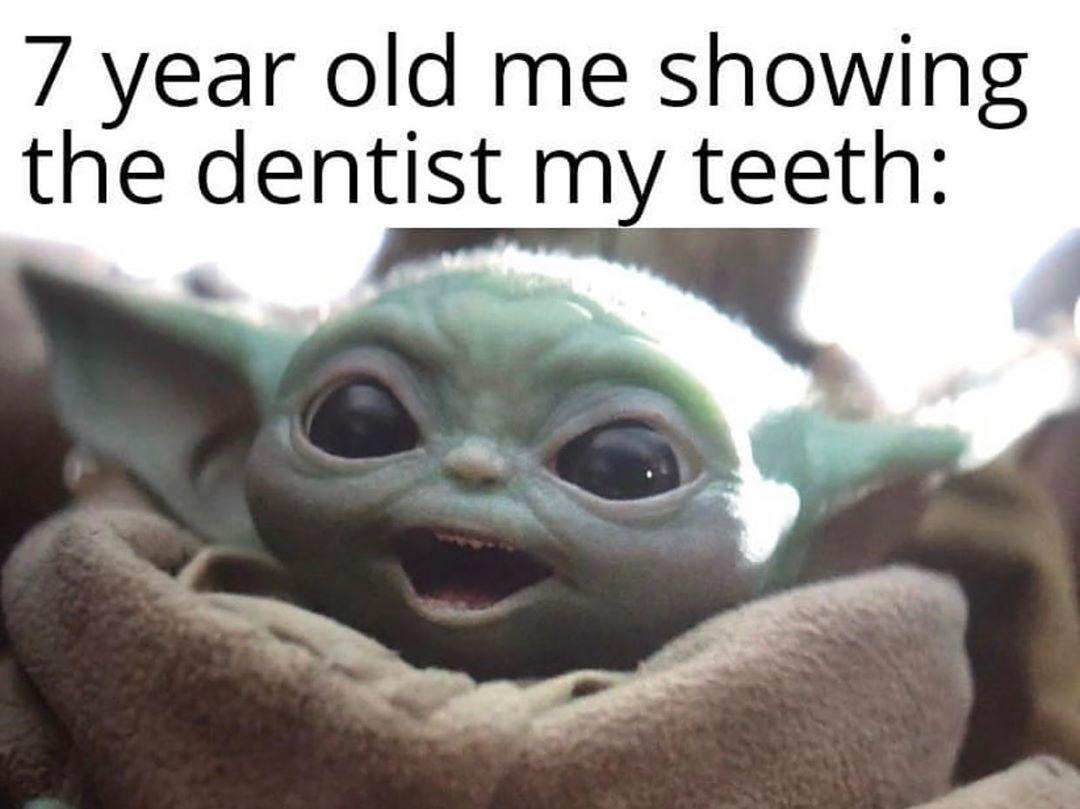 Baby Yoda Detailing Car Bird Poops On It Yoda Funny Yoda Meme Star Wars Quotes Funny