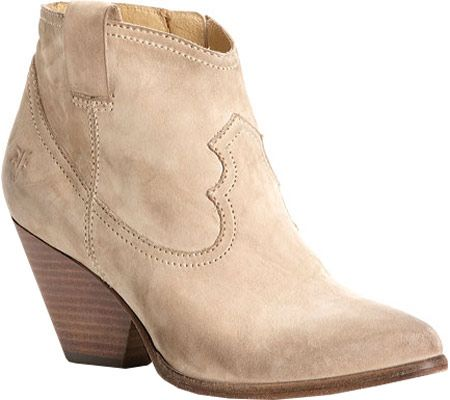 Frye Reina Bootie - Stone Leather - FREE Shipping