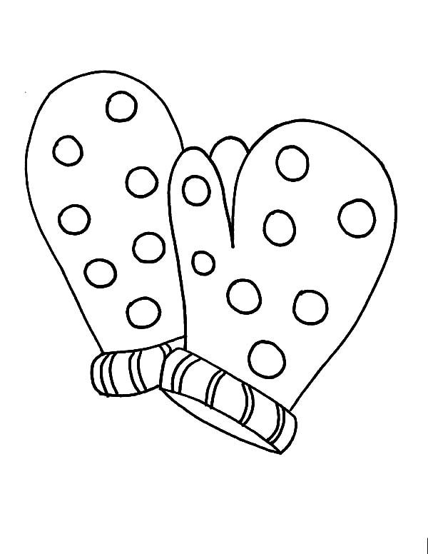 Mitten Coloring Pages - GetColoringPages.com | 776x600