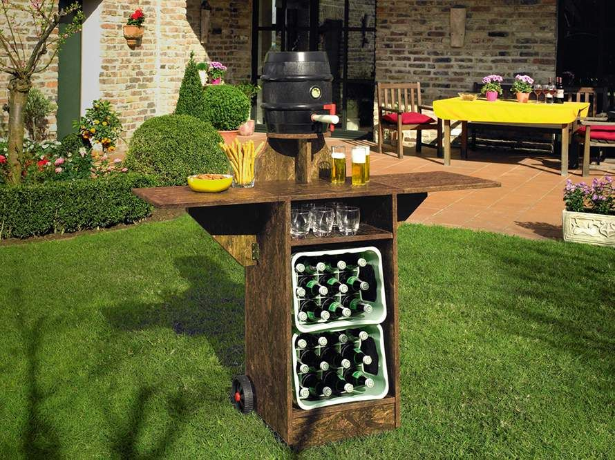 gartenbar oase offen n tzluches pinterest. Black Bedroom Furniture Sets. Home Design Ideas