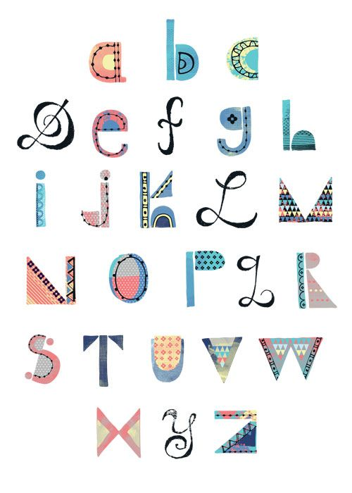 Patterned Type Competition Results Letter Patterns Pattern