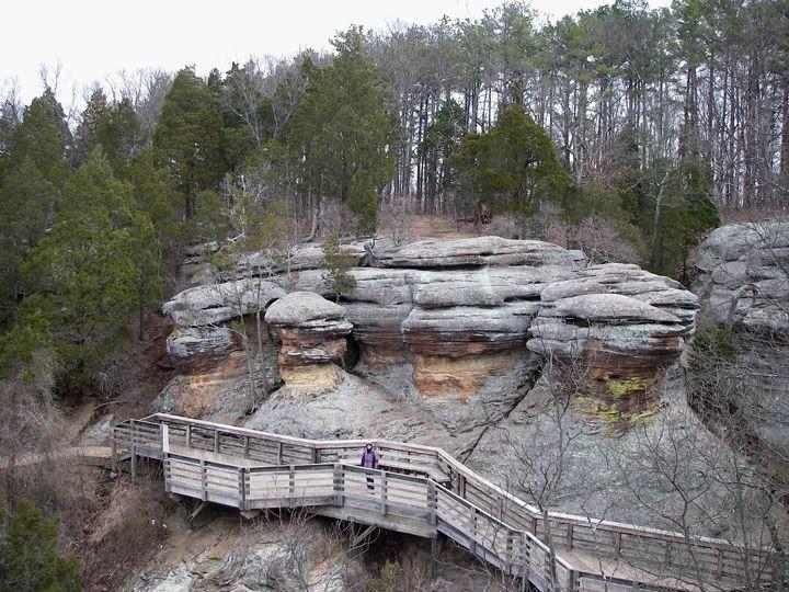 Observation Trail, Garden of the Gods, Illinois Illinois