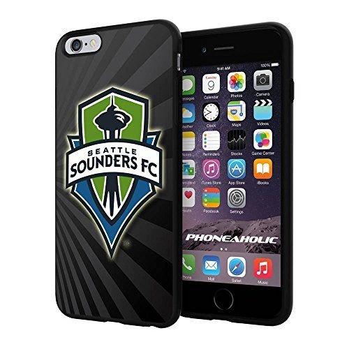 "Soccer MLS Seattle Sounders FC Logo, Cool iPhone 6 Plus (6+ , 5.5"") Smartphone Case Cover Collector iphone TPU Rubber Case Black Phoneaholic http://www.amazon.com/dp/B00WPRBT38/ref=cm_sw_r_pi_dp_6qTpvb1HACR0Z"