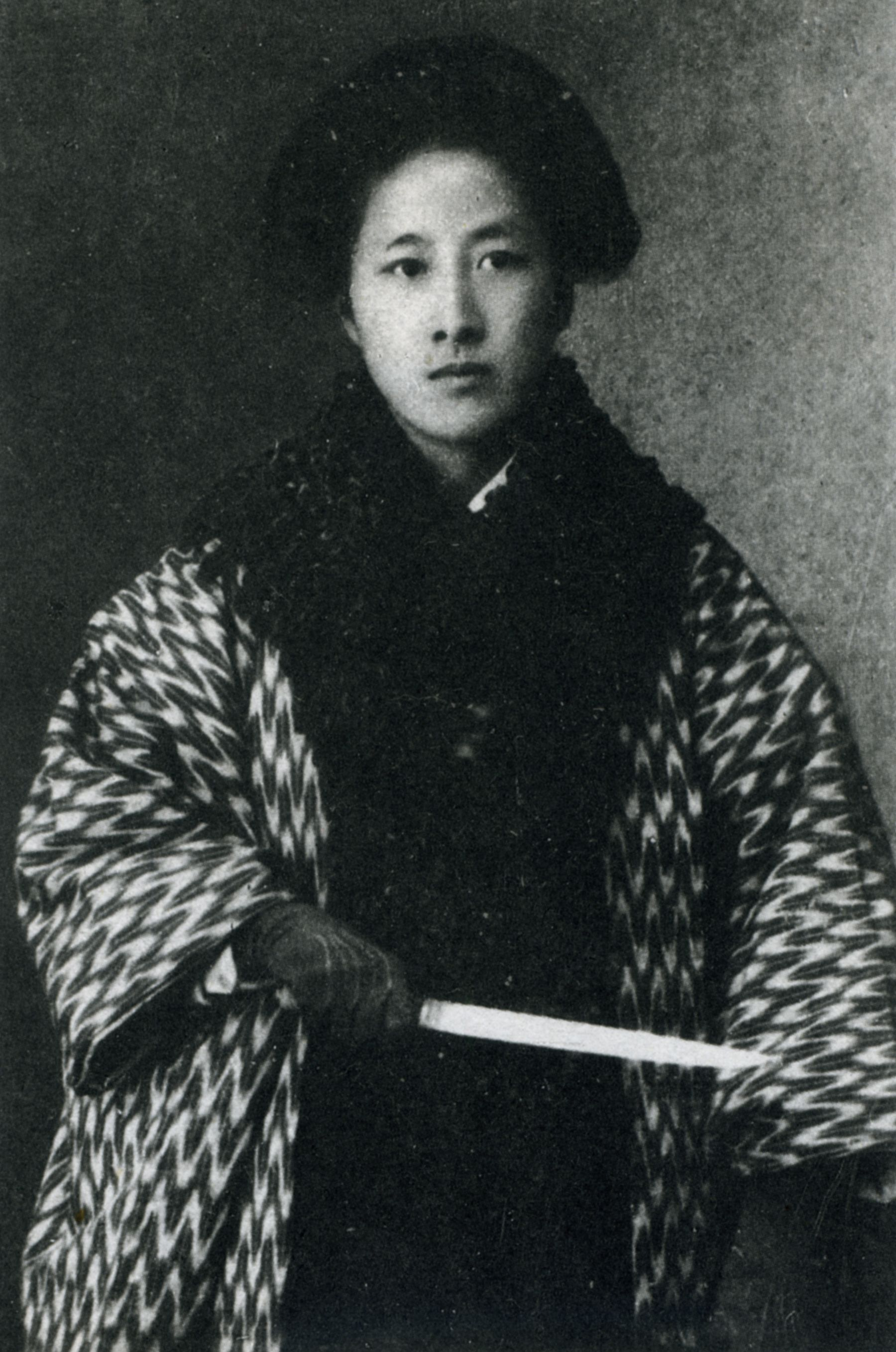 "Qiu Jin (Chinese: 秋瑾;Ch'iu Chin) 1875- 1907) - Chinese revolutionary, feminist, and writer. Her sobriquet name is Jianhu Nüxia (simplified Chinese: 鉴湖女侠; traditional Chinese: 鑑湖女俠; pinyin: Jiànhú Nǚxiá) which, when translated literally into English, means ""Woman Knight of Mirror Lake"". Qiu was executed after a failed uprising against the Qing dynasty.  She is considered a national heroine in China"