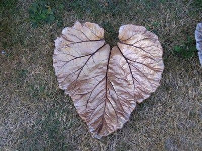 Concrete Leaves for Gardens or Fountains : 7 Steps (with Pictures) - Instructables