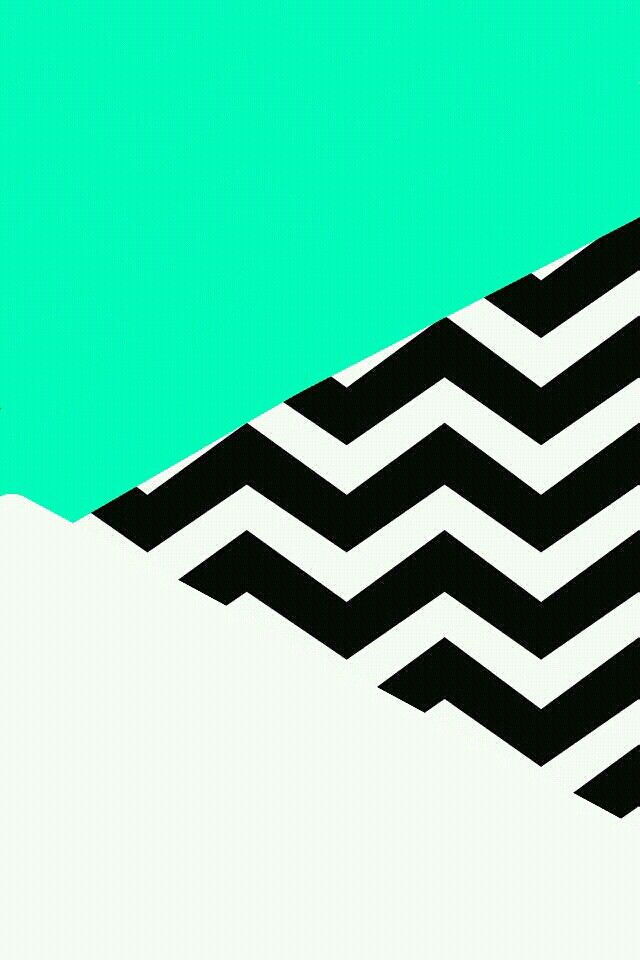 Mint White Chevron Design Cool Pictures For Wallpaper Cool Backgrounds Cool Wallpapers For Phones