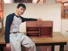 2011年6月11日 みんなの作品【引き出し・箱物】 大阪の木工教室arbre(アルブル)