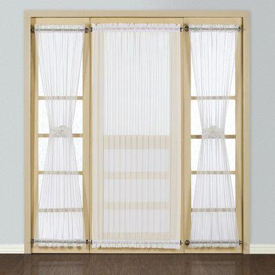 Batiste Full Door Rod Pocket Single Curtain Panel