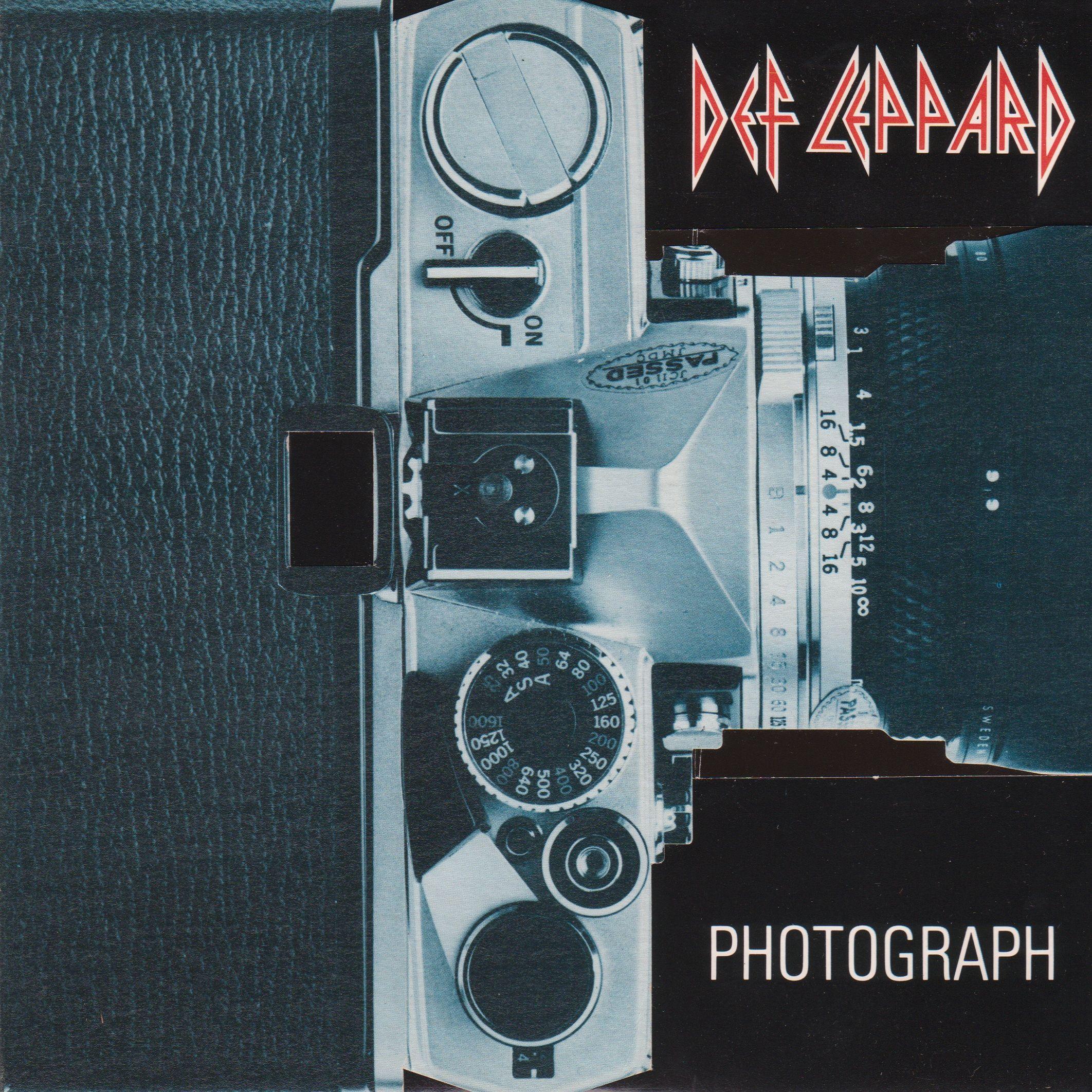 Def Leppard – Photograph (single cover art)