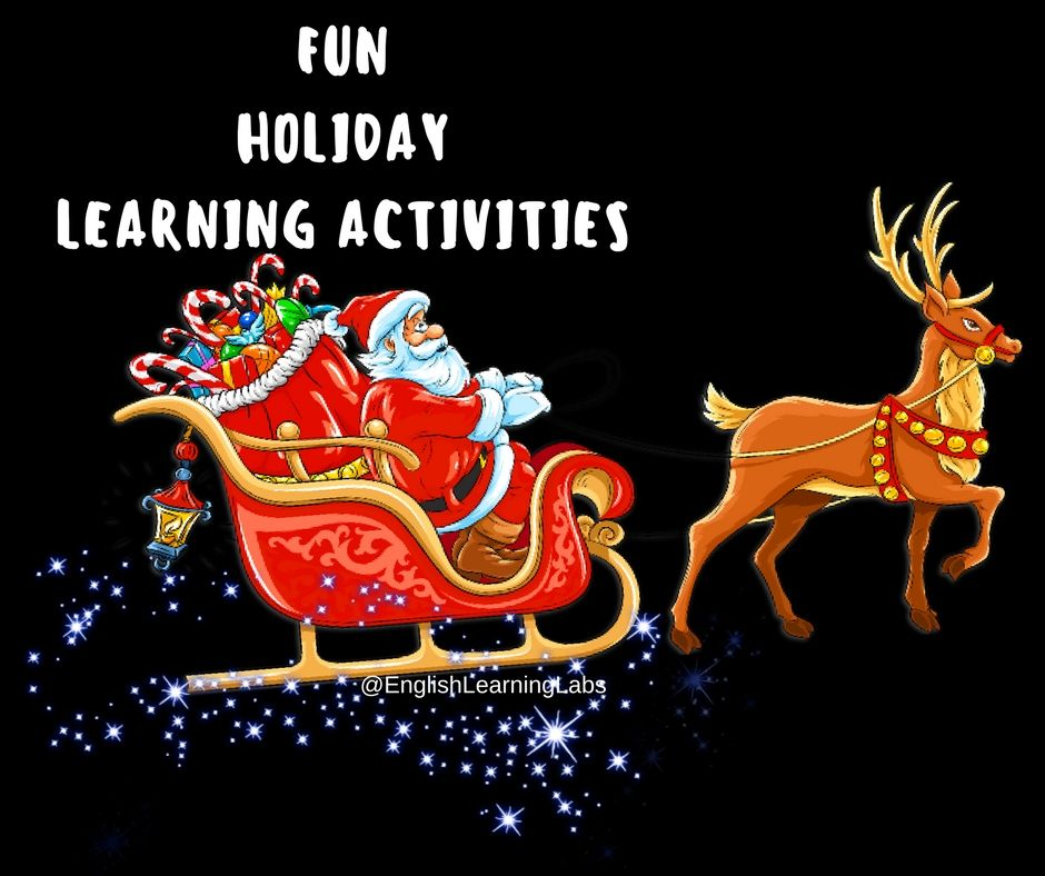 Preschool & Kindergarten Winter Holidays Learning and activity pack