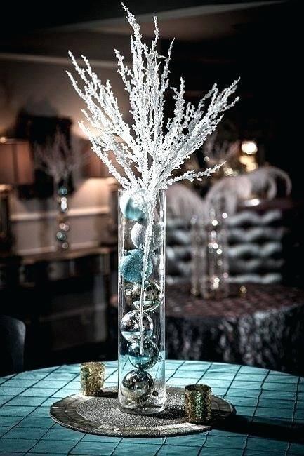 Pleasing Winter Centerpieces Best Winter Wonderland Centerpieces Home Interior And Landscaping Mentranervesignezvosmurscom