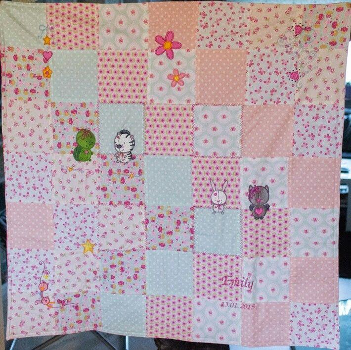 Decke für Emily