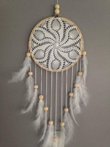 como hacer atrapa sue os a crochet tejas decoradas. Black Bedroom Furniture Sets. Home Design Ideas