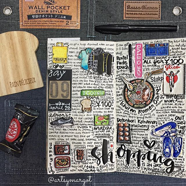 Travel Journal Pages And Scrapbook Inspiration Ideas For Travel