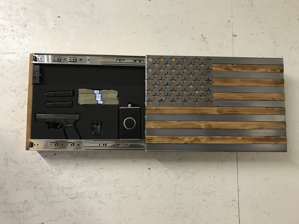 Freedom Cabinet Slider with Invisible RFID Lock and key cards | Art