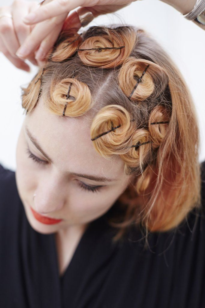 How To Get Curly Hair On Top Of Head