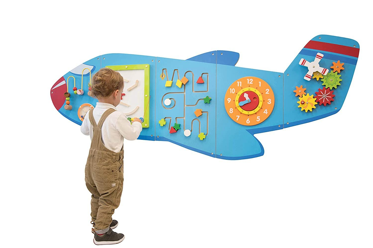 Learning Advantage Airplane Activity Wall Panels 18m In Home Learning Activity Center In 2020 Toddler Decor Airplane Activities Toddler Activities