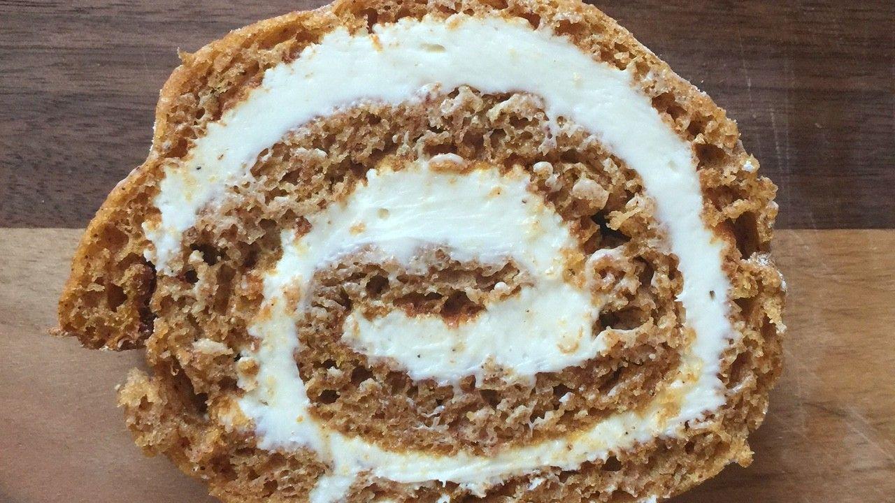 NEW KDHamptons Recipe: PUMPKIN SPICE CAKE ROLL