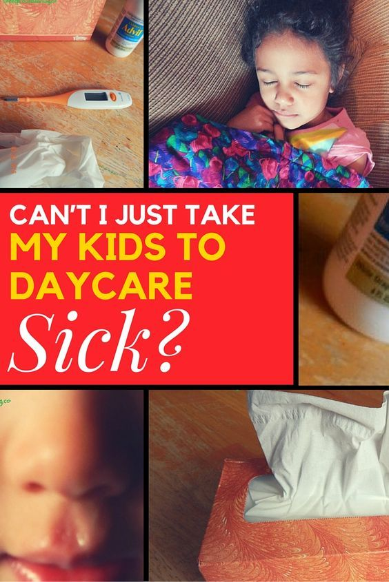 Why Does Daycare Have Such A Strict Daycare Sick Policy ...