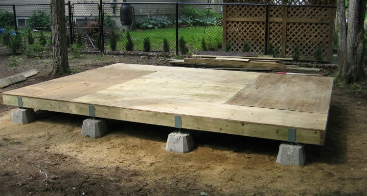 How To Build a Shed Floor Step by Step Guide Shed floor Building a shed Shed storage