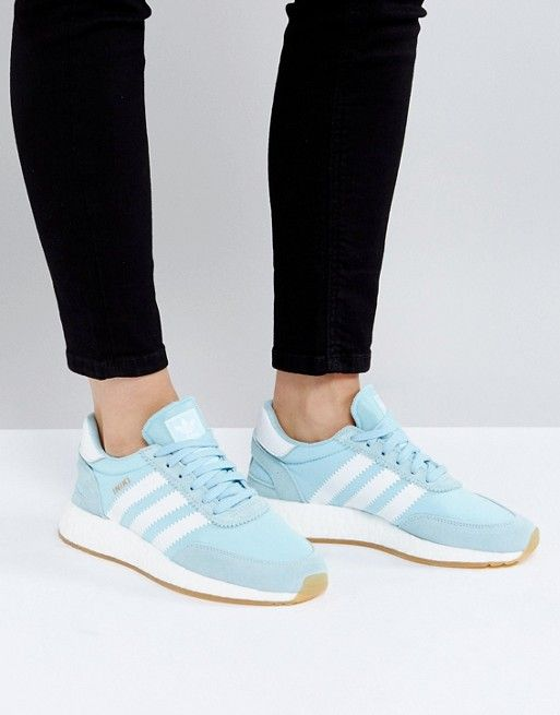 reputable site 01201 aabf3 adidas Originals Iniki Sneaker In Icey Blue. Discover Fashion Online  Clearance Shoes ...