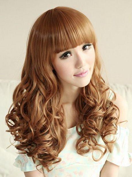 Cool Korean Curly Hairstyles With Bangs 2018 Hairstyles 19 Hair