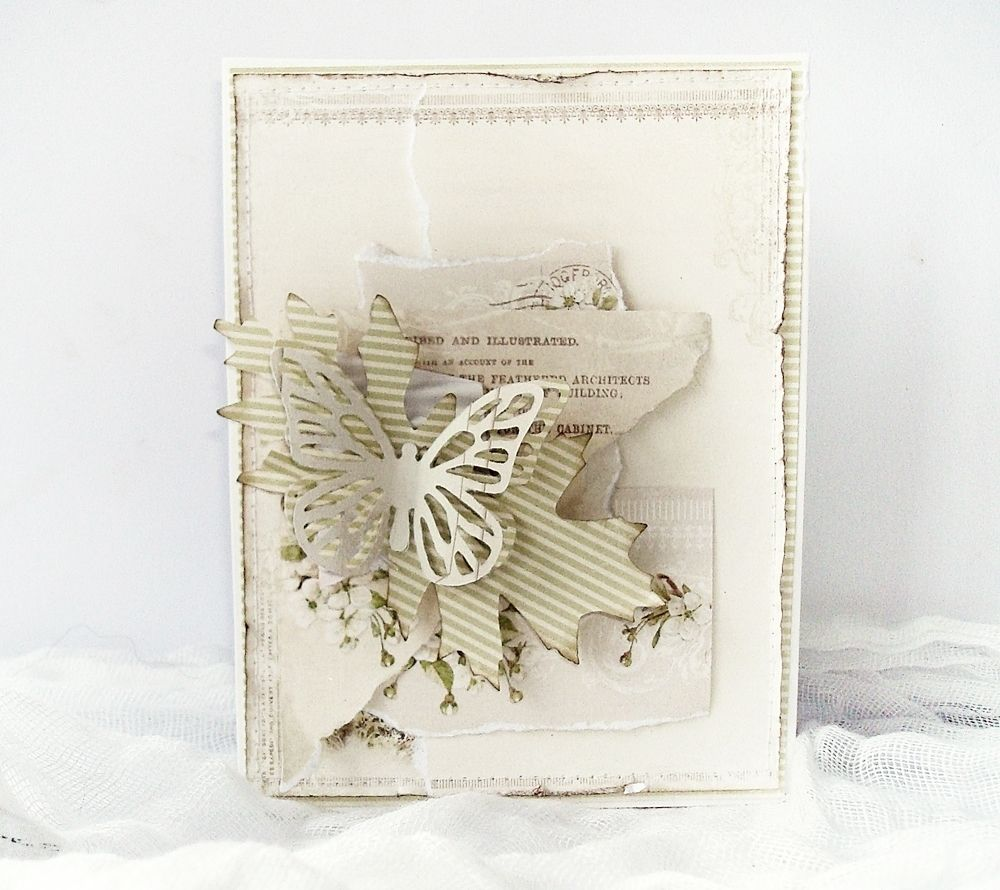 Sizzix Card Making Ideas Part - 26: Crafting Ideas From Sizzix UK: Butterfly Card