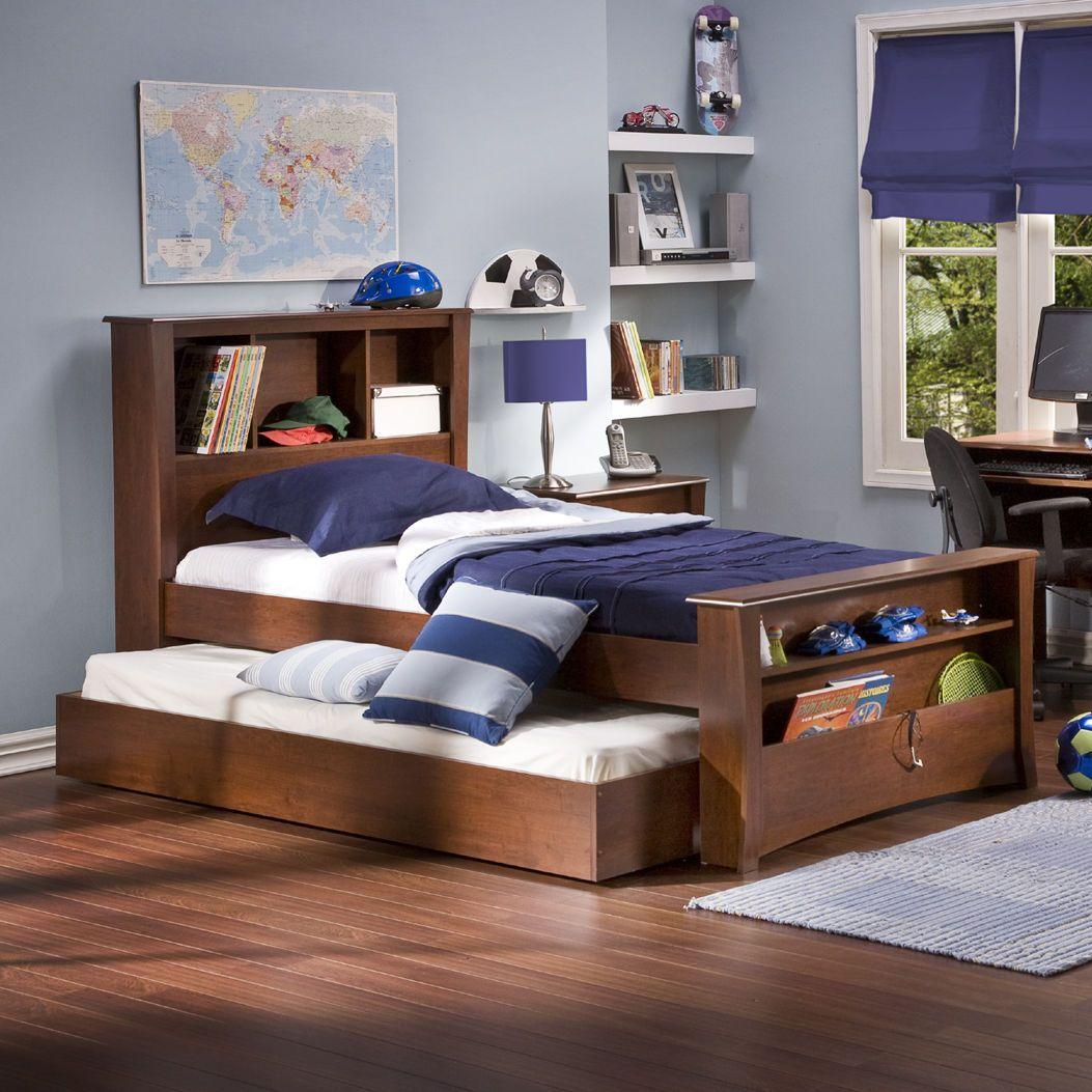 Best Berta Industrial Queen Standard Bed Kids Bed Frames 640 x 480