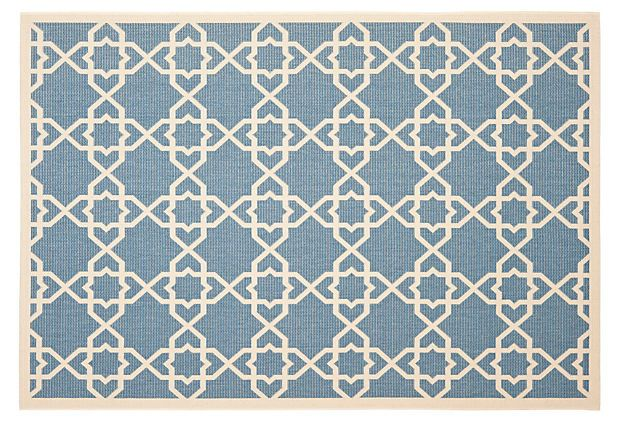 With Its Modern Graphic Design This Weather Resistant Rug Is Elegant Enough To Be