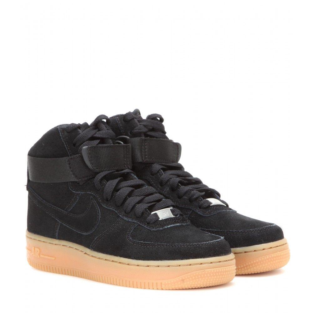 Nike Femmes Air Force Supérieure Velcro Haute