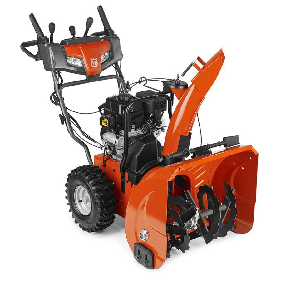 Husqvarna St 224p 24 In Two Stage Gas Snow Blower Self Propelled Gas Snow Blower Electric Snow Blower Snow Blowers