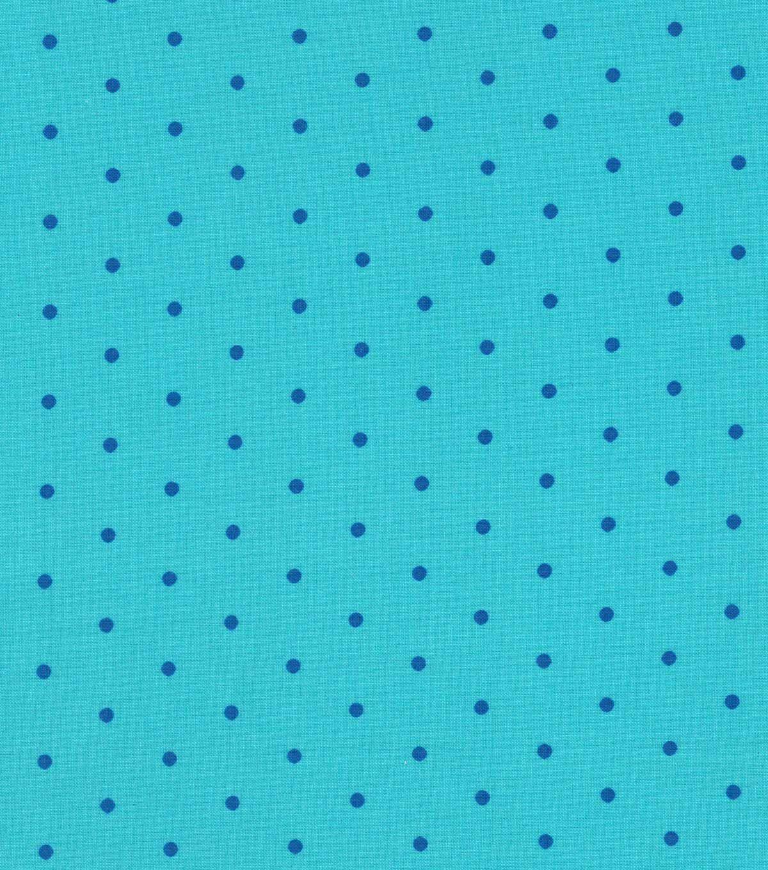 Quilter's Showcase Cotton Fabric Blue Aspirin Dots , #AFF, #AFF, #Cotton, #Fabric, #Dots, #Showcase