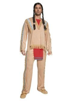 Authentic Western Indian Chief Costume  sc 1 st  Pinterest & Authentic Western Indian Chief Costume | Costumes | Pinterest ...