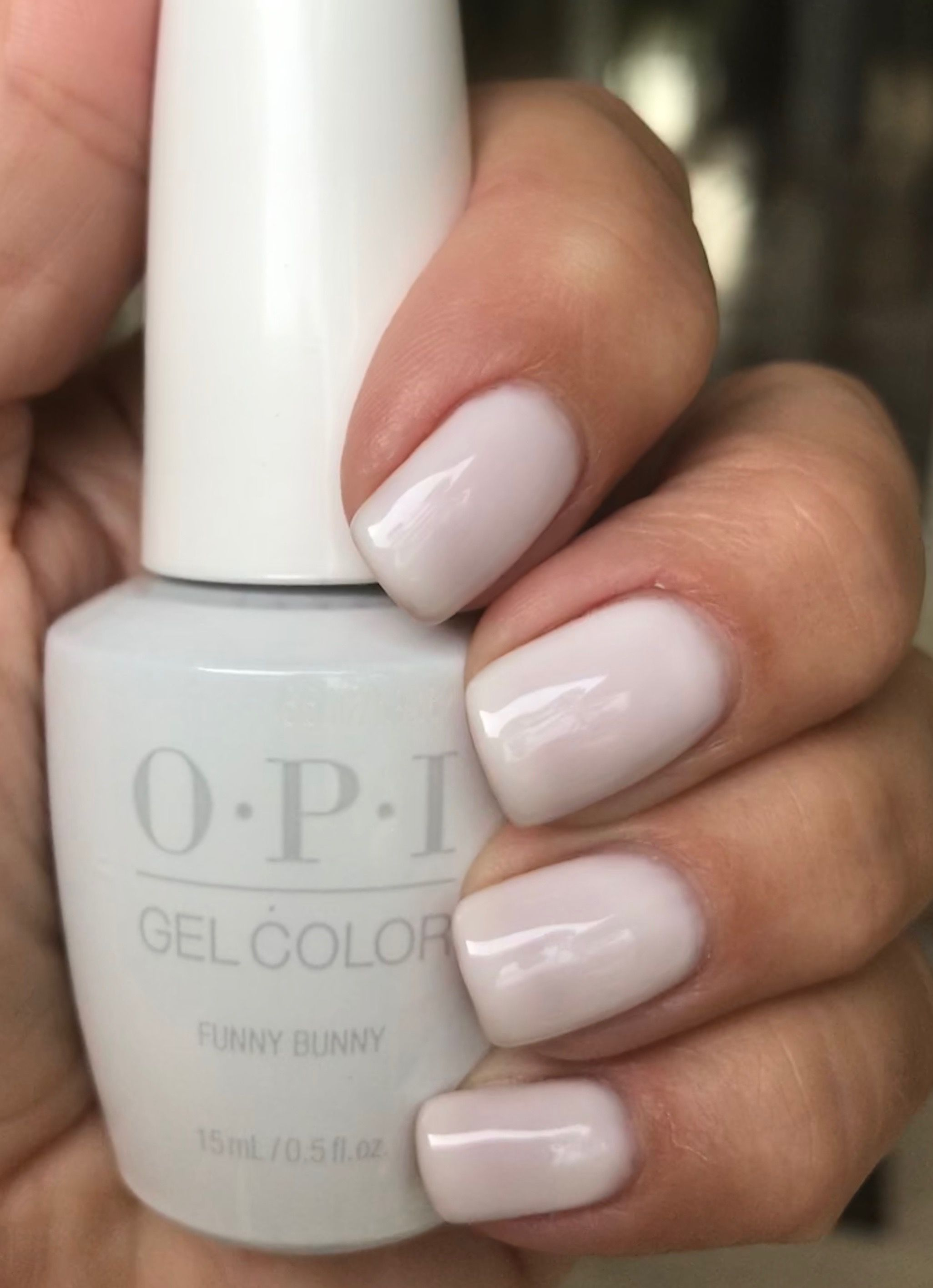 Opi Funny Bunny Over Don T Bossa Nova Me Around To Keep It From Being Streaky Opi Gel Nails Wedding Acrylic Nails Opi Nail Colors