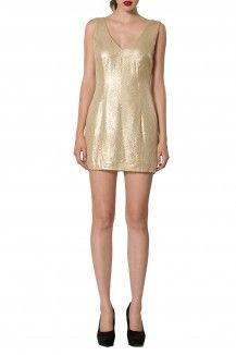 V-Neck Sequin Dress By Michelle Salins  Rs. 9,400