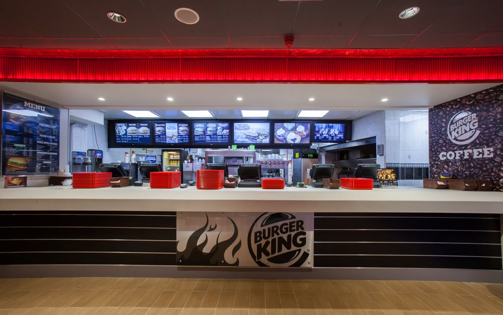How Wide Are Fast Food Counter