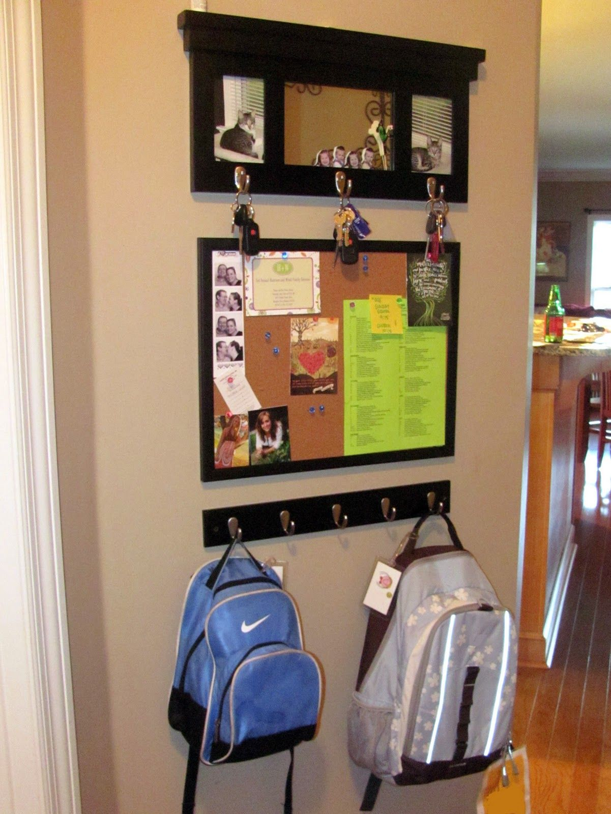 Want To Do This For Kids Backpacks In Entryway Command