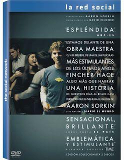 La red social [Vídeo (DVD)] / dirigido por David Fincher. Sony Picture Home Entertainment, cop. 2011