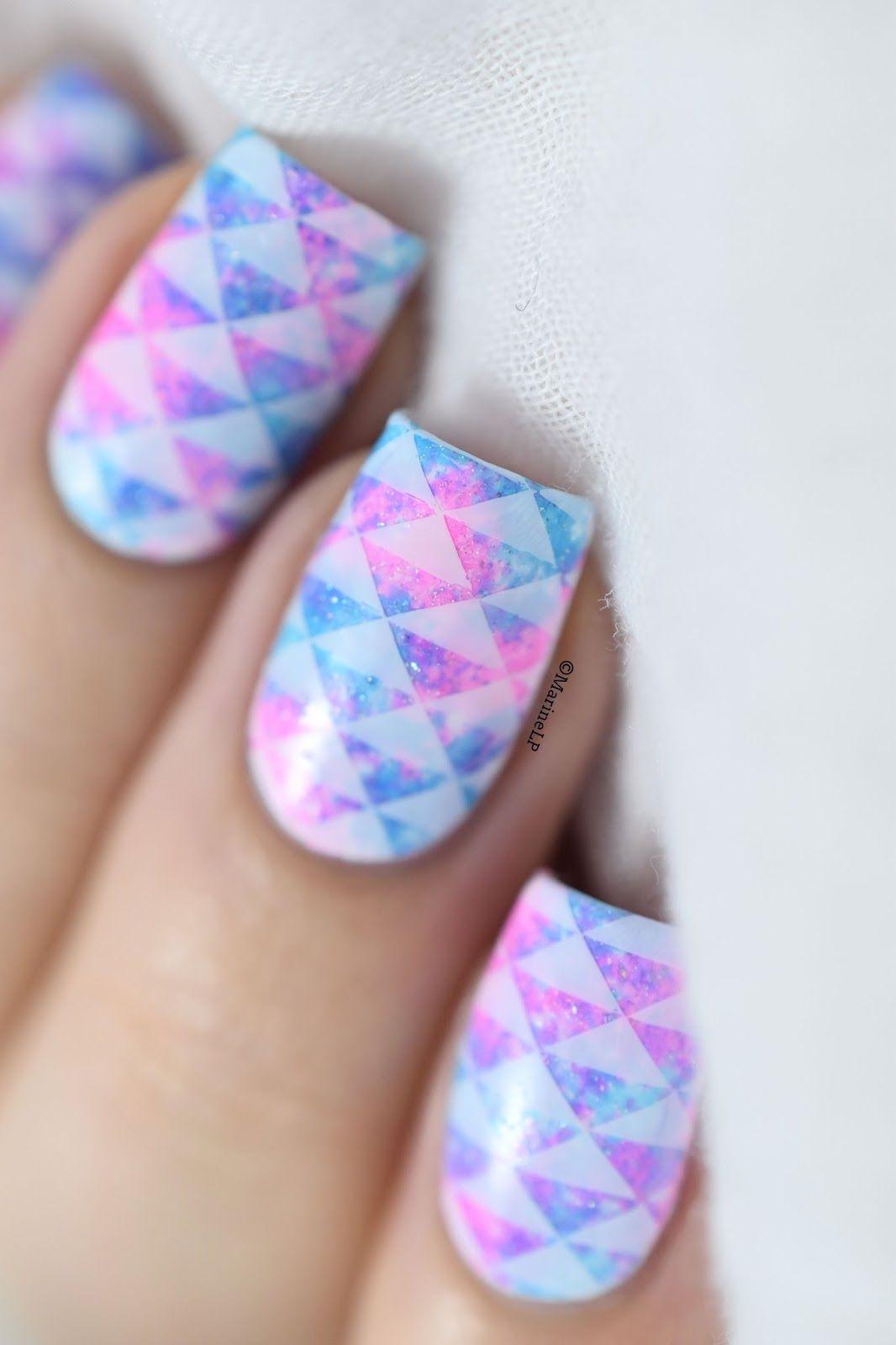 Interesting Nail Art Designs For Fall: Uñas Galaxia, Mejores Diseños