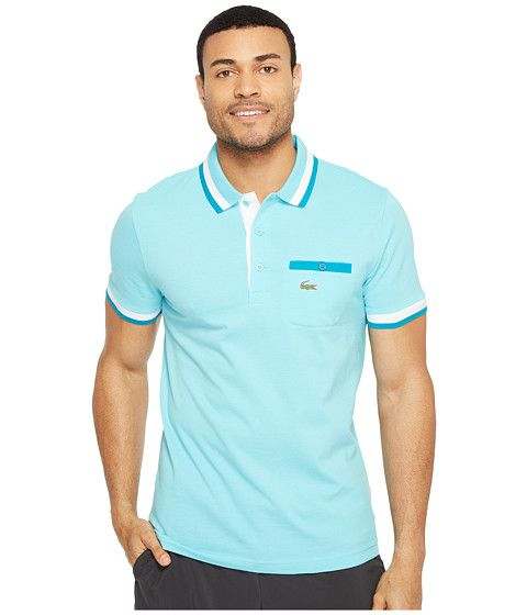 2ef362cf LACOSTE Golf Semi-Fancy Super Light W/ Pocket Polo. #lacoste #cloth #shirts  & tops
