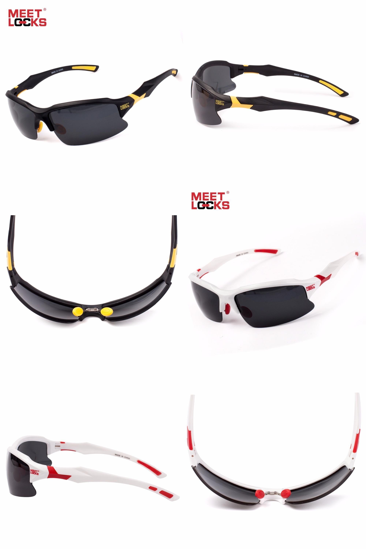 9ae9222fb59  Visit to Buy  MEETLOCKS Bike Cycling Glasses Sports Sunglasses UV 400  Polarized Lens for