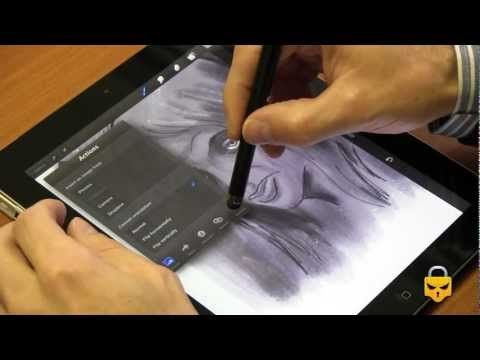 Procreate review Sketch, paint, create!!! (The music
