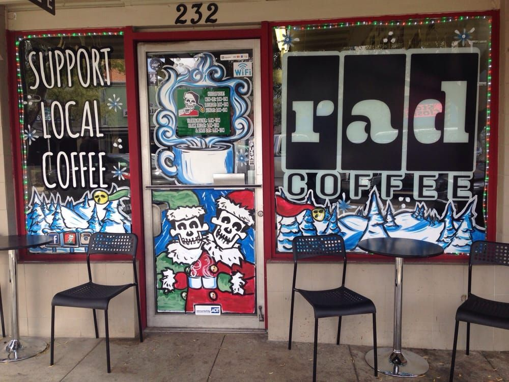 Rad Coffee in upland, CA