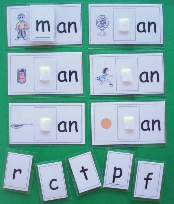 Phonics homework-phonics-helpers | Teacch Tasks etc ...
